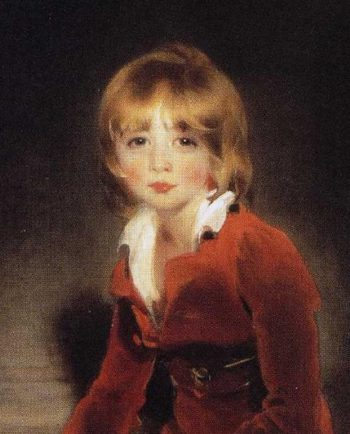 The Children of Ayscoghe Boucherett Detail 1 | Sir Thomas Lawrence | oil painting