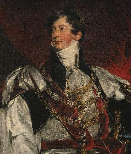 The Prince Regent in Garter Robes Detail | Sir Thomas Lawrence | oil painting