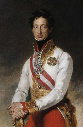Archduke Charles of Austria Detail | Sir Thomas Lawrence | oil painting