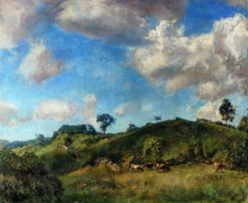 A Clearing | Charles Harold Davis | oil painting