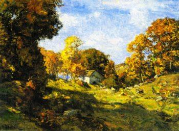 Autumn on the Farm   Charles Harold Davis   oil painting