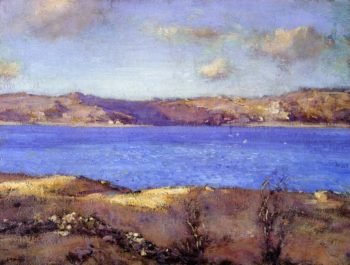 By the Shore   Charles Harold Davis   oil painting