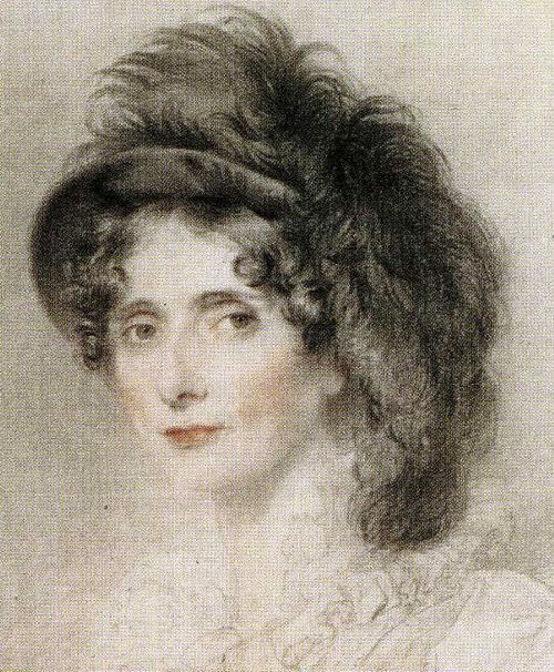 Elizabeth Duchess of Devonshire Detail | Sir Thomas Lawrence | oil painting