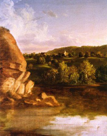 On Catskill Creek | Thomas Cole | oil painting