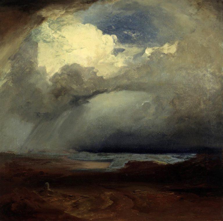 The Battlefield at Marathon   Carl Rottmann   oil painting