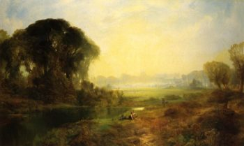 Windsor Castle | Thomas Moran | oil painting