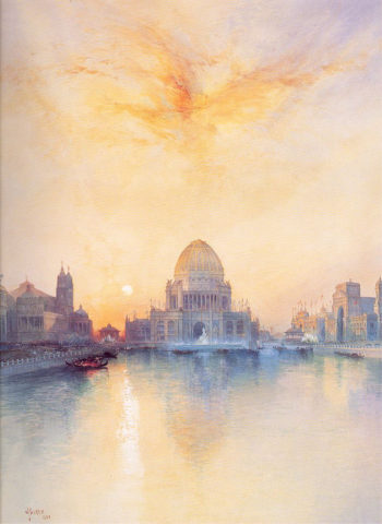 Chicago World's Fair | Thomas Moran | oil painting