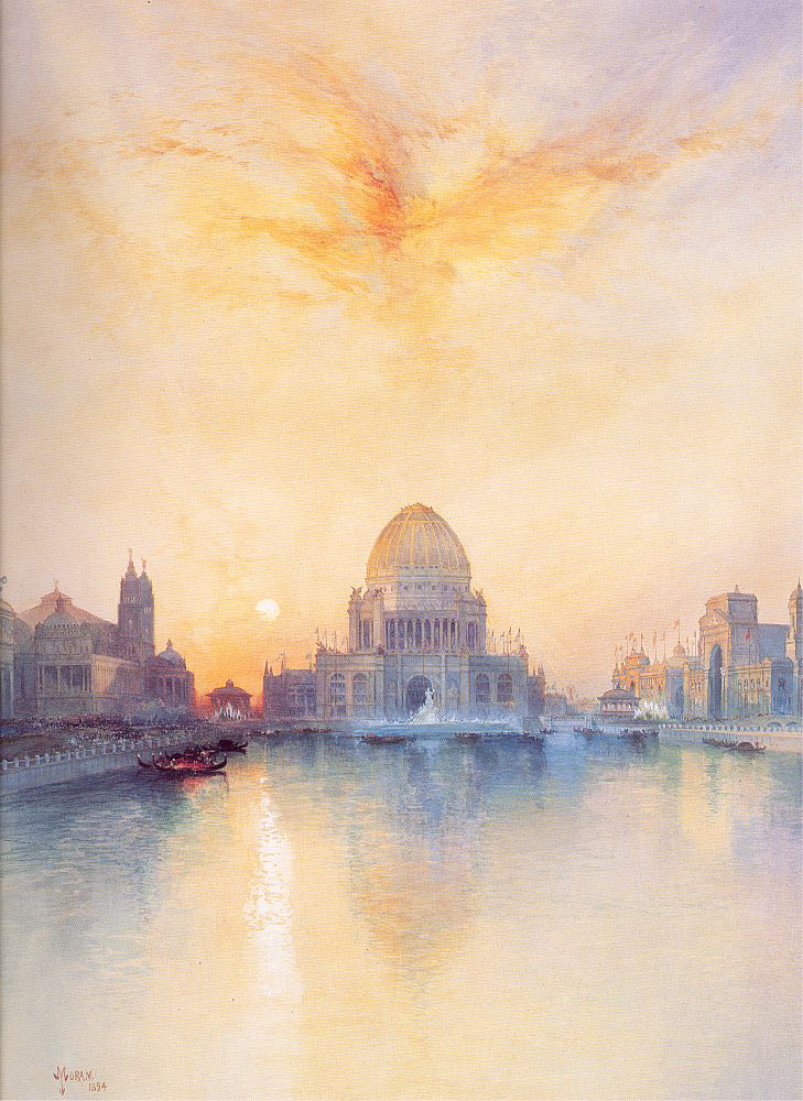 Chicago World's Fair | Thomas Moran | oil painting