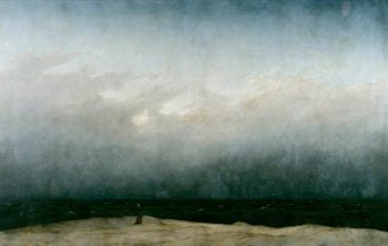 Monk by the Sea | Caspar David Friedrich | oil painting