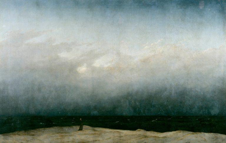 Monk by the Sea | Caspar David Friedrich | oil painting