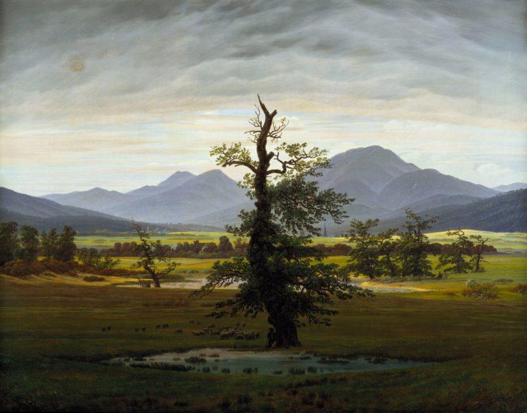 Solitary Tree | Caspar David Friedrich | oil painting