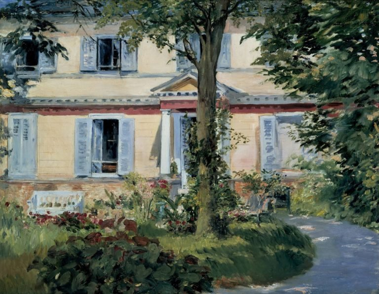 The House at Rueil | Edouard Manet | oil painting