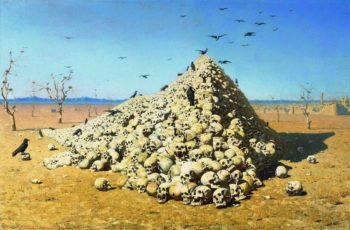 Apotheosis of War 1871 | Vasily Vereshchagin | oil painting