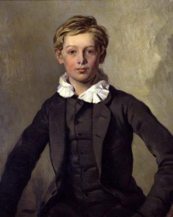 Portrait of Count Haubold von Einsiedel | Ferdinand von Rayski | oil painting