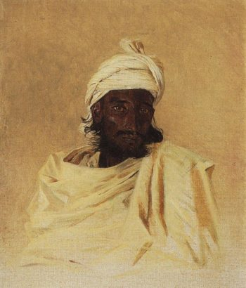 Bhili Bhils one of the mountain tribes of the Deccan 1874 | Vasily Vereshchagin | oil painting