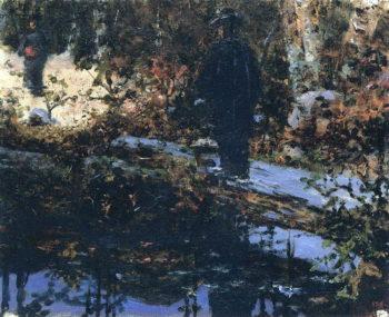 In the Park | Vasily Vereshchagin | oil painting