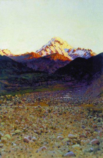 In the mountains 1890 | Vasily Vereshchagin | oil painting