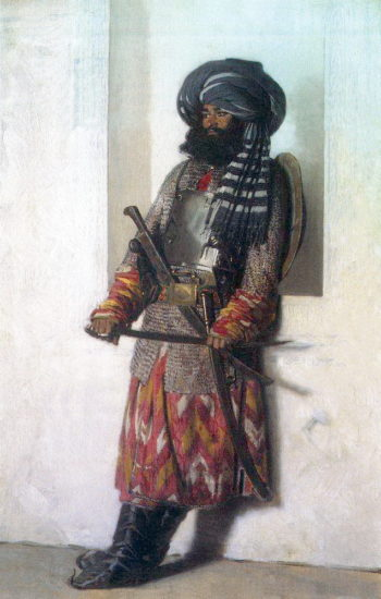 Afghan 1869 1870 | Vasily Vereshchagin | oil painting