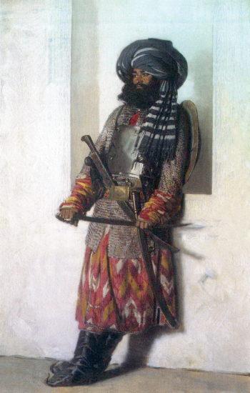 Afghan 1869 1870 | Vasily Vereshchagin | oil painting