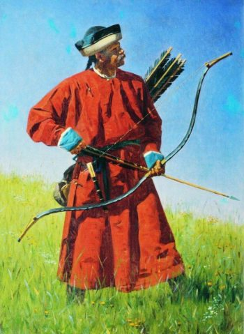 Bukhara soldiers sarbaz 1873 | Vasily Vereshchagin | oil painting