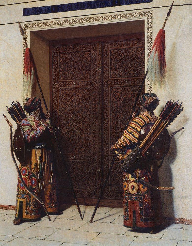 Doors Timur Tamerlane 1872 | Vasily Vereshchagin | oil painting
