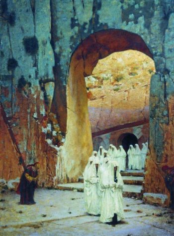 in Jerusalem Royal tombs 1884 1885 | Vasily Vereshchagin | oil painting