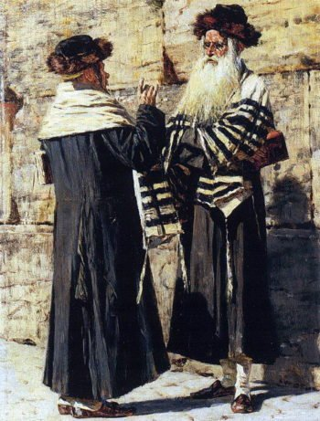 Two Jews 1883 1884 | Vasily Vereshchagin | oil painting