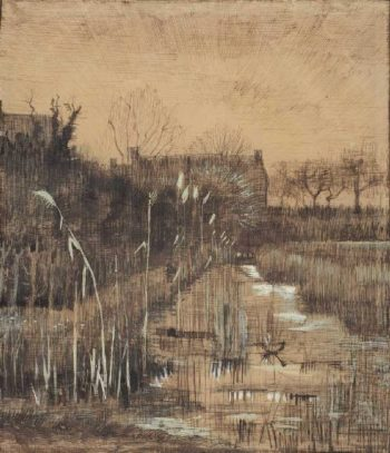 Ditch | Vincent van Gogh | oil painting