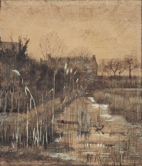 Ditch | Vincent van Gogh | oil painting