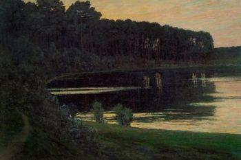 Lake Grunewald | Walter Leistikow | oil painting