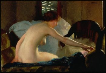 Nude | William MacGregor Paxton | oil painting
