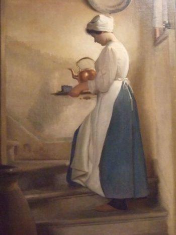 Dejeuner Venice | William MacGregor Paxton | oil painting