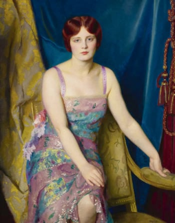 Glitter | William MacGregor Paxton | oil painting