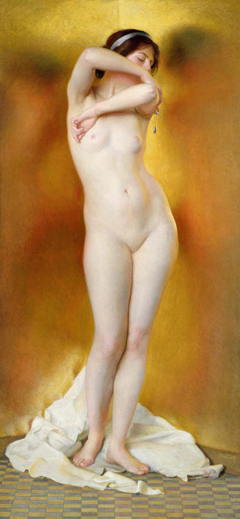 Glow of Gold Gleam of Pearl | William MacGregor Paxton | oil painting