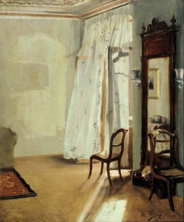 The Balcony Room | Adolph Menzel | oil painting