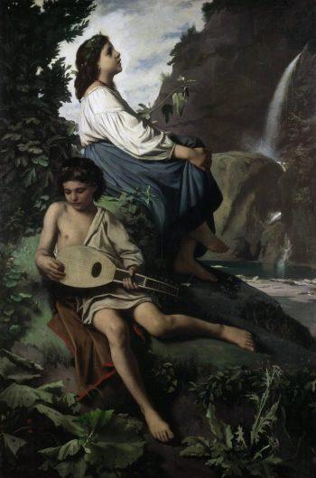 Ricordo di Tivoli | Anselm Feuerbach | oil painting