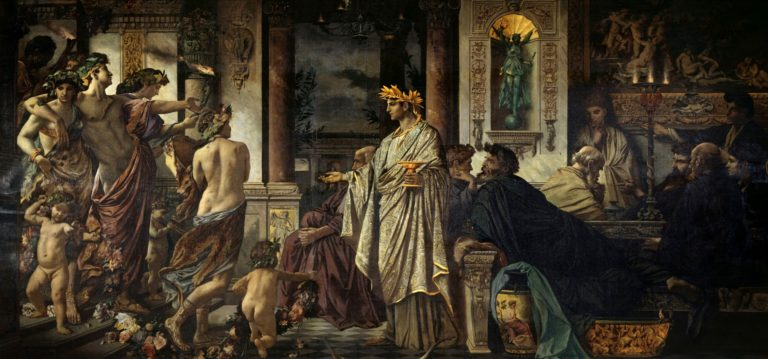 The Symposium | Anselm Feuerbach | oil painting