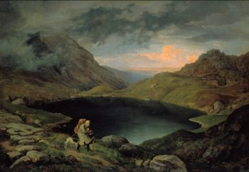 Lake in the Riesengebirge | Gustav Karl Ludwig Richter | oil painting
