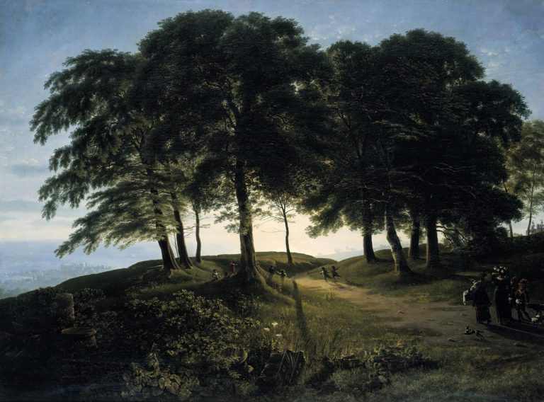 Morning | Karl Friedrich Schinkel | oil painting