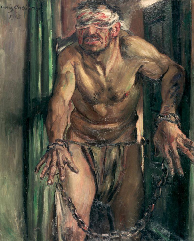 The Blinded Samson | Lovis Corinth | oil painting