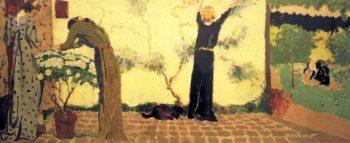 Gardening | Edouard Vuillard | oil painting