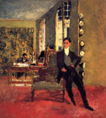Gaston and Josse Bernheim | Edouard Vuillard | oil painting