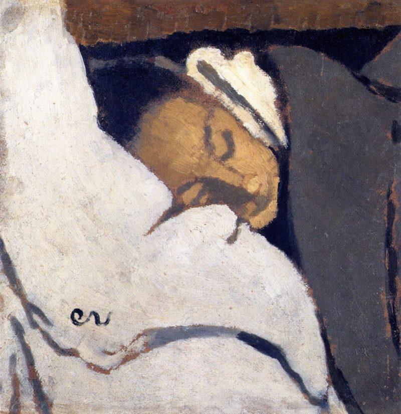 Girl Sleeping | Edouard Vuillard | oil painting
