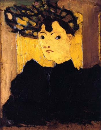 Hat with Green Stripes | Edouard Vuillard | oil painting