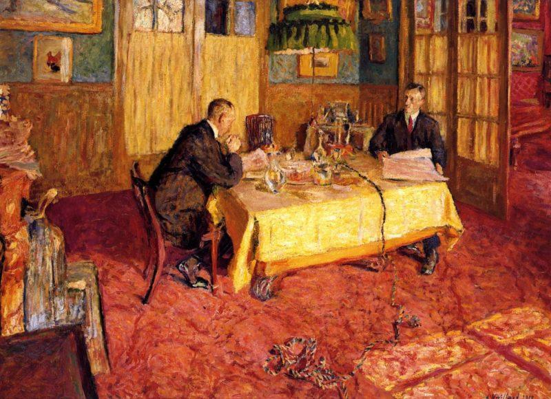 Henry and Marcel Kapferer | Edouard Vuillard | oil painting