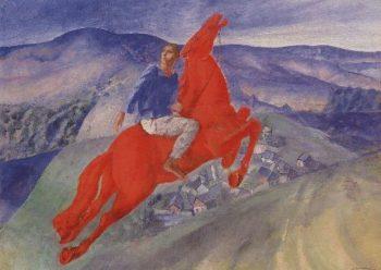 Fantasia 1925 | Petrov Vodkin Kuzma Sergeevich | oil painting