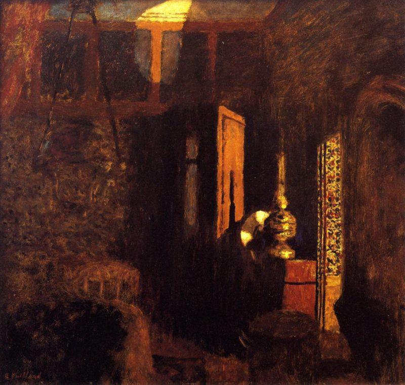 Interior | Edouard Vuillard | oil painting