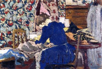 Interior | Edouard Vuillard | oil painting