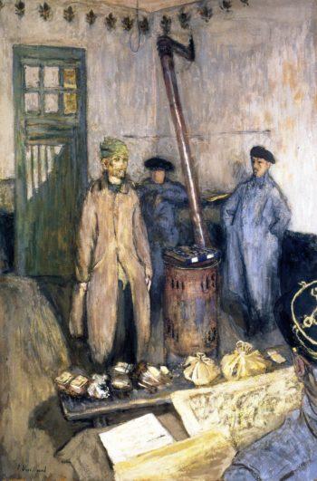 Interrogation of the Prisoner | Edouard Vuillard | oil painting