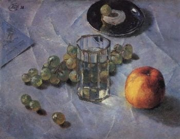 Grapes 1938 | Petrov Vodkin Kuzma Sergeevich | oil painting
